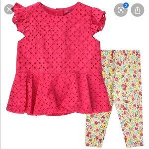 Ralph Lauren Pink & Floral Outfit